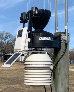 Onsite weather station