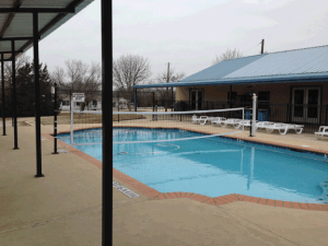 West swimming pool